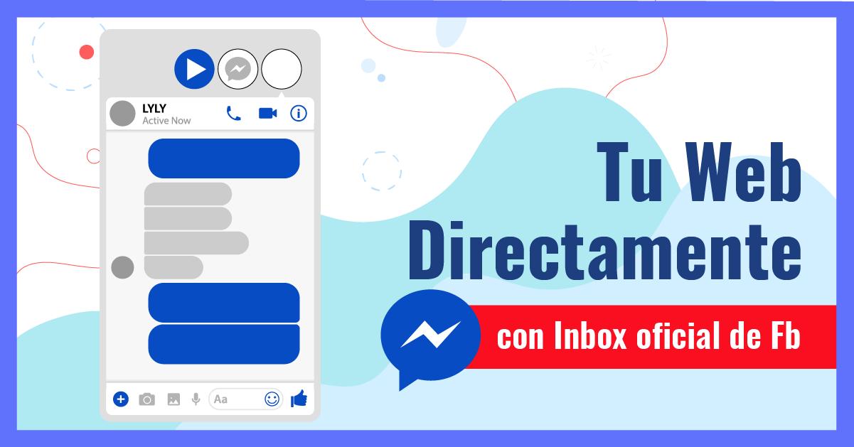 Messenger Chat de Facebook para sitios web