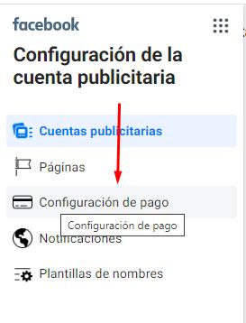 Cómo agregar métodos de pago en la cuenta publicitaria de Facebook 3